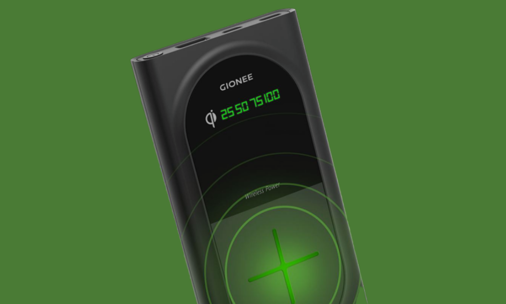 Gionee GBuddy Wireless Charging Power Bank Launch in India 10000mah
