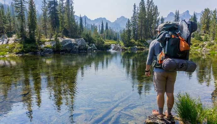 Backpacking For Beginners experience in the wilderness - Hiking Plan : powered by Doodlekit