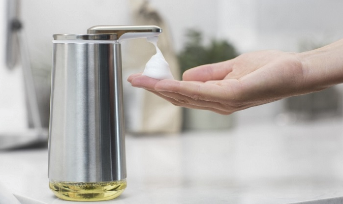 Lather it Up With a Foam Soap Dispenser