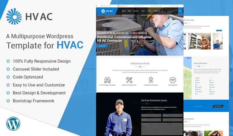 Best HVAC WordPress Theme