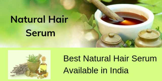 Get rid of the damaged hair using these Natural Hair Serum