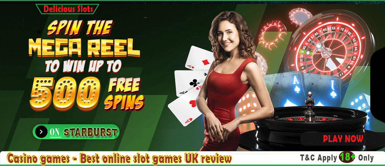Delicious Slots: Casino games - Best online slot games UK review