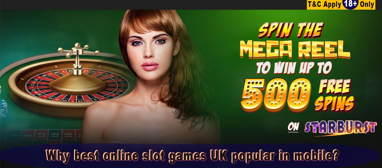 Why best online slot games UK popular in mobile? | Holy Bingo