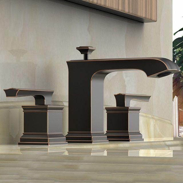 Buy Oil Rubbed Bronze Bathroom Sink Faucet