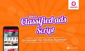Classifieds Script With Advanced Features - Joysale Script