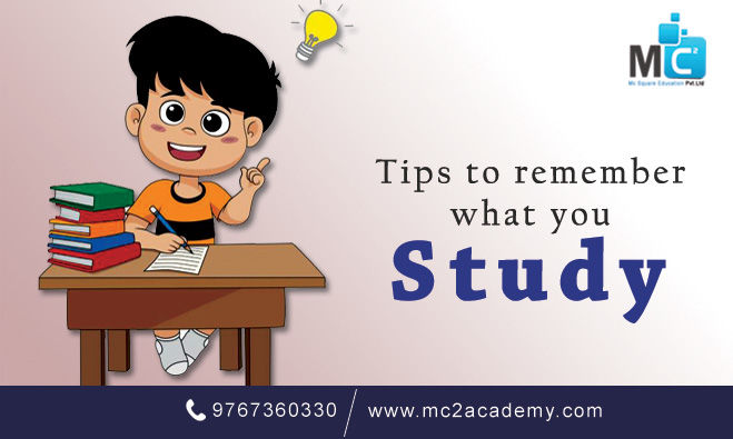 Best Tips to Remember what you Study | MC2 Academy