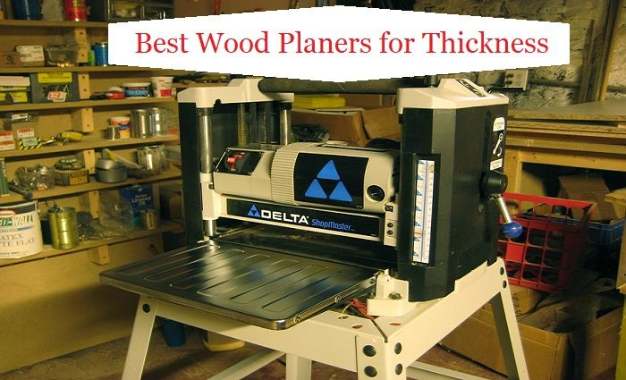 Benchtop Wood Planers for woodworking job