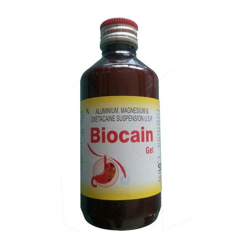 Biocain Gel, Aluminium Hydroxide Magnesium Hydroxide Oxetacaine Suspension - Schwitz Biotech