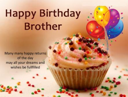 Happy Birthday Wishes for Brother in hindi - भाई के लिए Heart touching, funny wishes