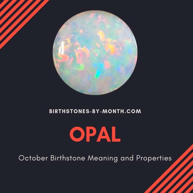 October Birthstone Meaning and Properties - Birthstones By Month