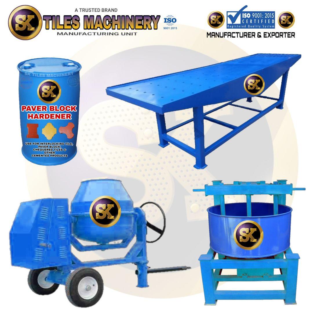 Cement Tiles machine
