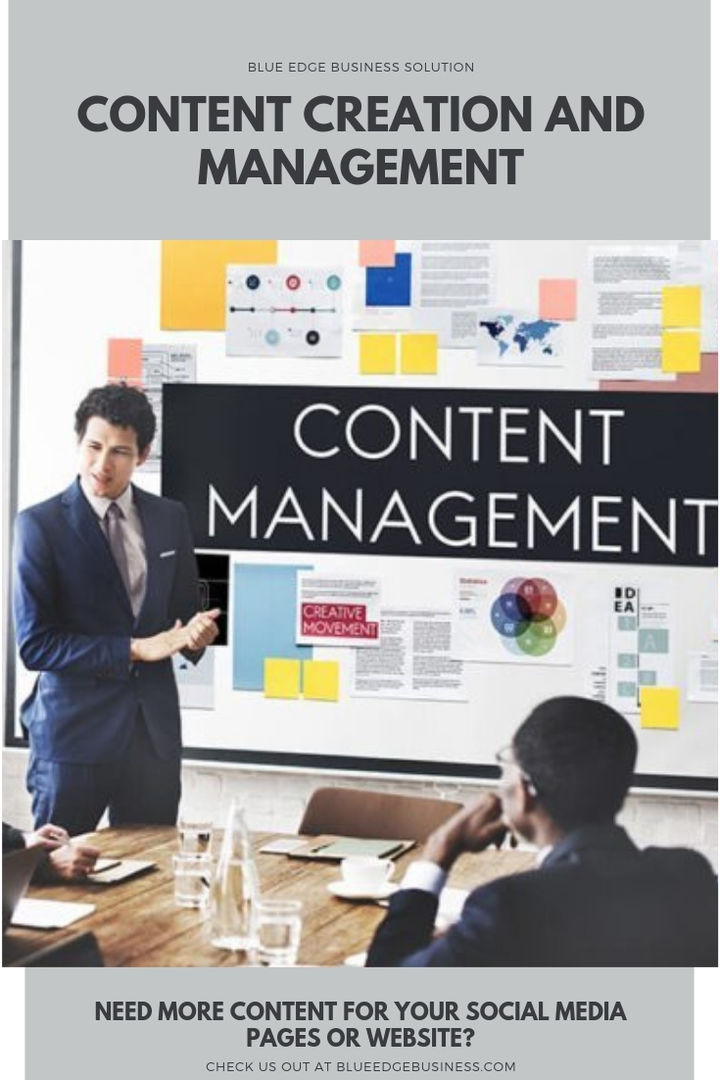 Blue Edge Business - Content Creation and Management