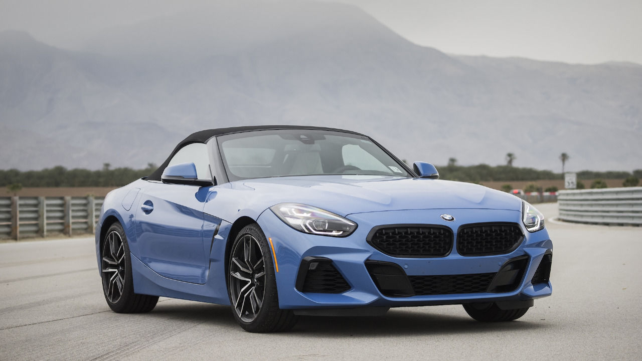 We Took the BMW Z4 sDrive30i out in Palm Springs