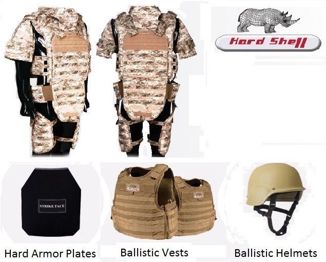 Full Body Armor Protection- Hard Shell