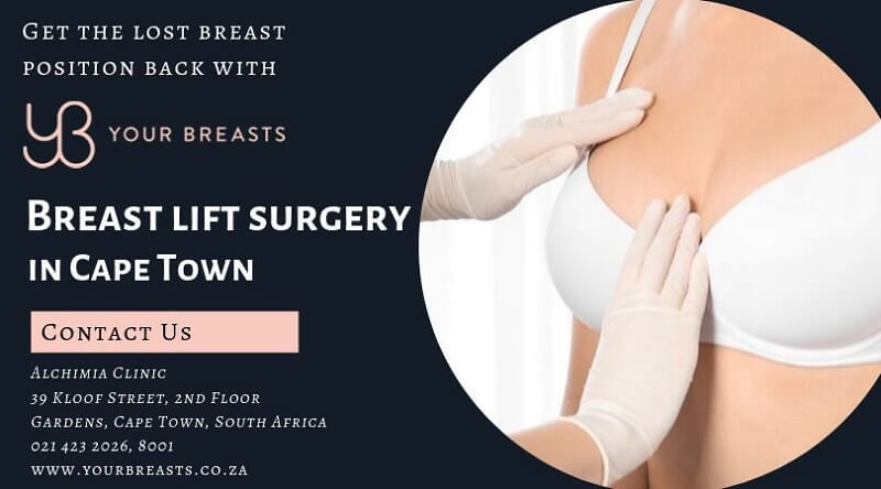 Breast lift surgery in Cape Town