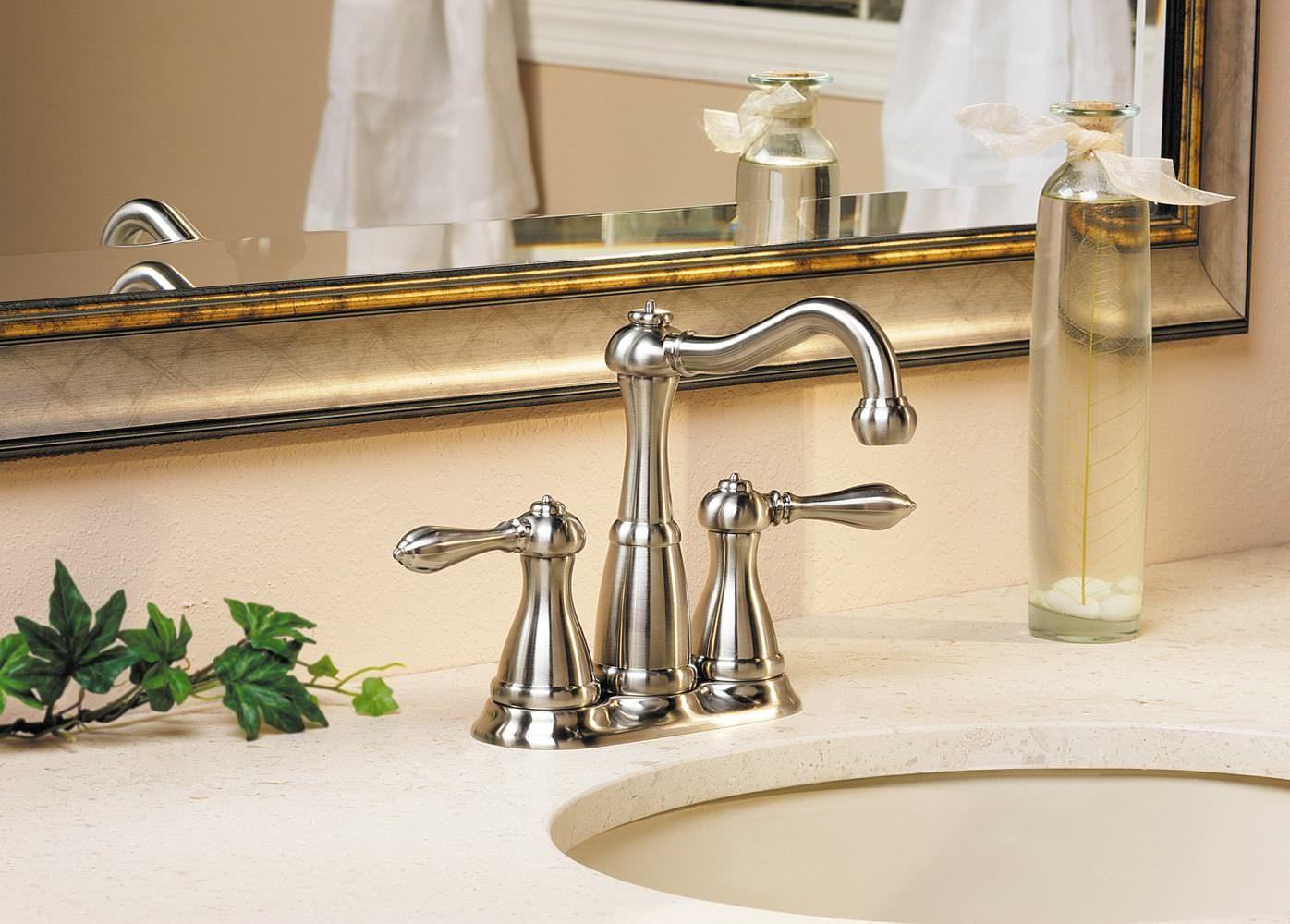 Styles Of Bathroom Faucets-Brushed Nickel