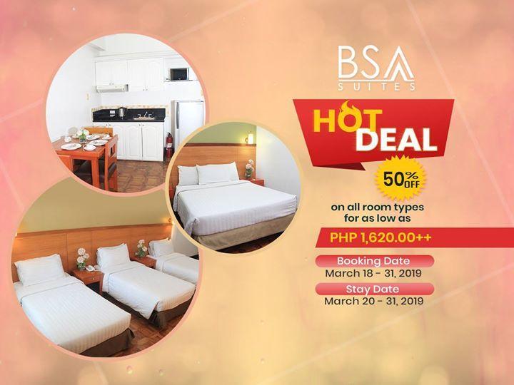 BSA Suites - Lenten Special