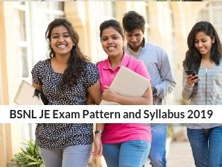 BSNL JE Exam Pattern and Syllabus 2019: Sample Paper, Preparation tips