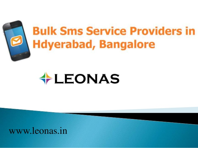 Bulk Sms Service providers in Hyderabad,Bangalore,India - Voice Sms,W…
