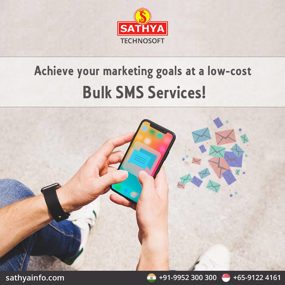 Bulk SMS Service Provider in India | Sathya Technosoft