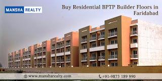 Buy Residential BPTP Builder Floors in Faridabad