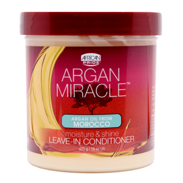 Buy Online African Pride Argan Miracle Moisture & Shine Leave-in Conditioner at Cosmetize.com