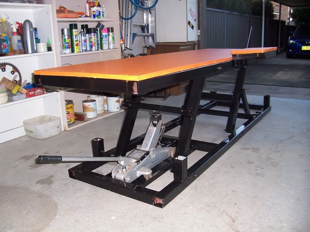 How to Build A Motorcycle Lift Table