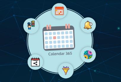 Dynamic CRM  calendar