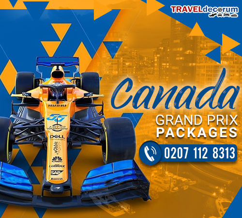 canadian grand prix 2019 packages