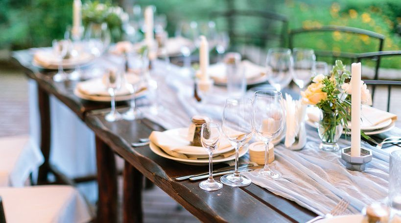 Wedding Catering Styles
