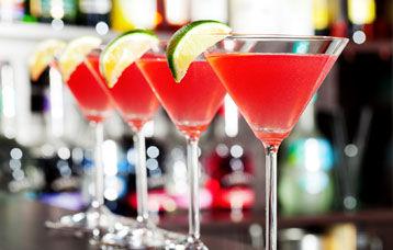 Cellar liquor Bar Counter