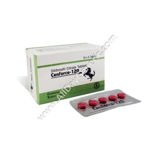 Buy Cenforce 120 mg ($ 0.86/Pill) | AllDayGeneric.com - My Online Generic Store
