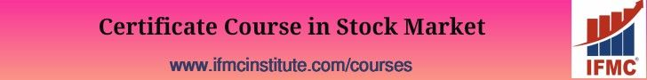 IFMC - Stock Market Course after 12th + Graduation in Delhi (CCSM Training in India)