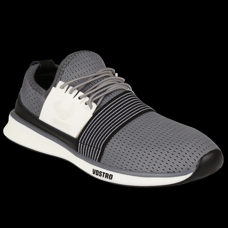 Comfortable Shoes For Men | Buy Vostro Alton Grey Men Comfortable Shoes