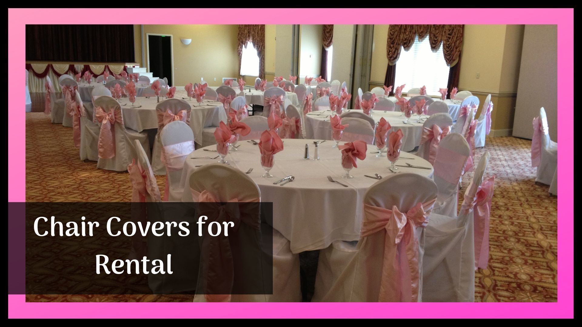 Cover-up Your Theme Festival by Covering Chairs with Decorative Covers – Event Rantals