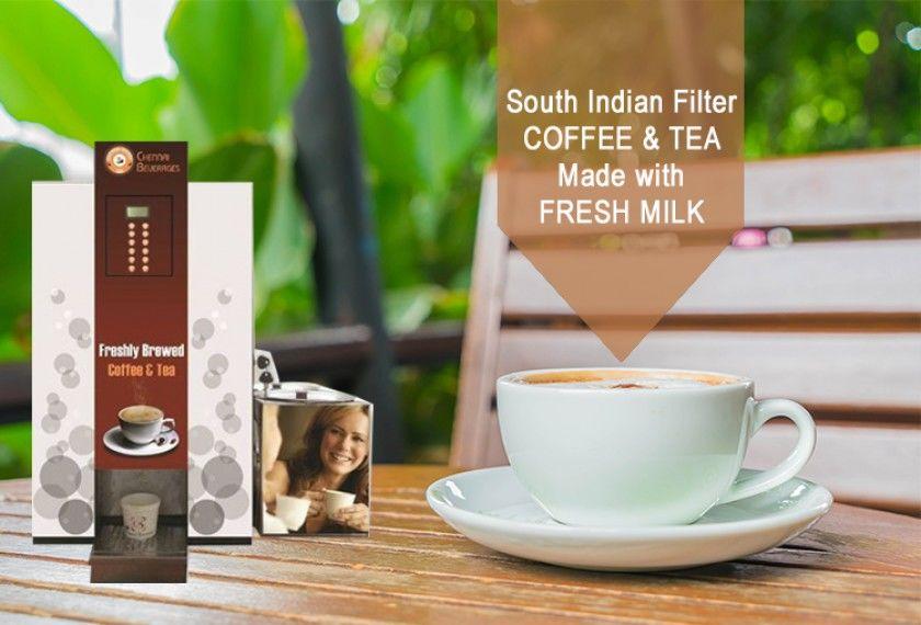 Best Fresh Milk Tea Coffee Vending Machine Manufacturers in Chennai