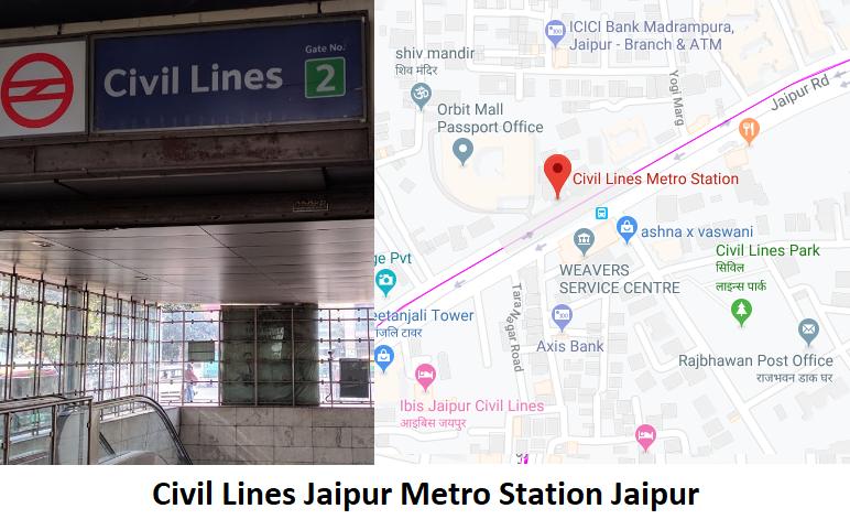 Civil Lines Jaipur Metro Station Jaipur - Routemaps.info