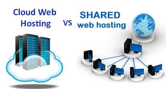 Cloud hosting vs Shared hosting, web hosting - Nice charme Blog
