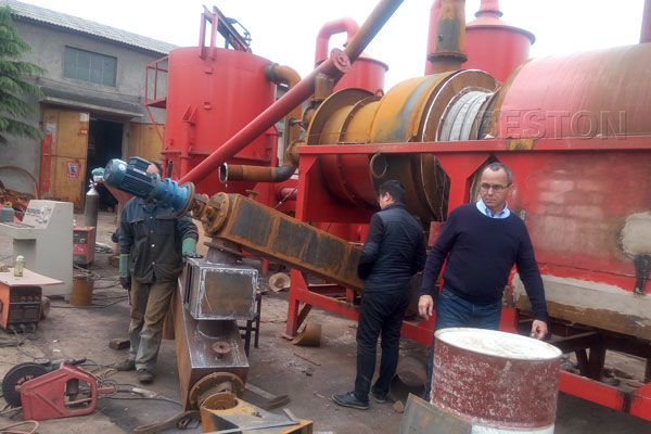 Coconut Shell Carbonization Machine for Sale