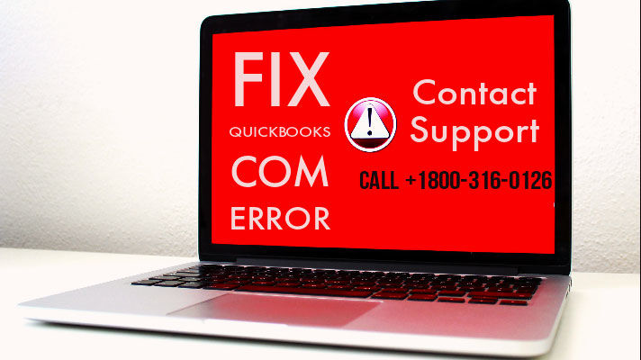Com Error in QuickBooks Desktop 2019 - Fix & Help @+1800-316-0126