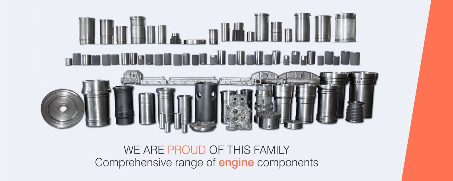 Cylinder liner manufacturers & Suppliers | Cooper Corp India