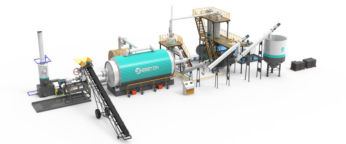 Continuous Pyrolysis Plant in India - Upgrading Old System