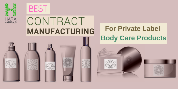 Get Private Label Body Care Products from Best Contract Manufacturers