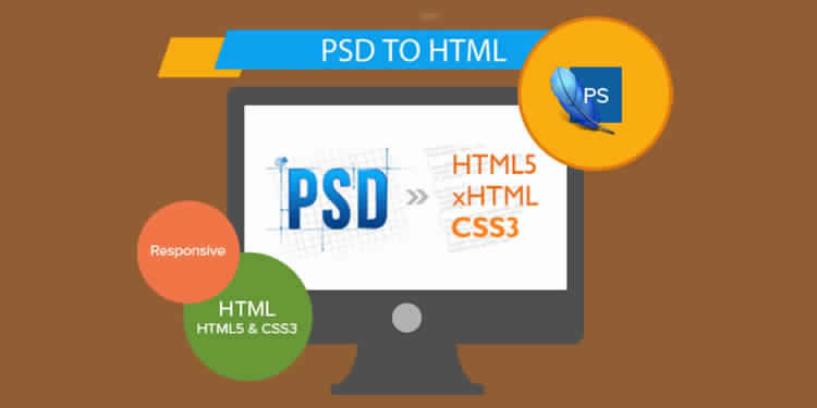 Key elements to consider when converting from PSD to HTML