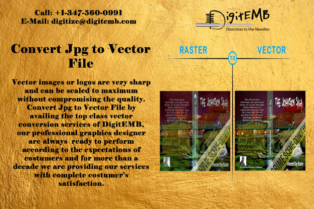 Convert Jpg to Vector File