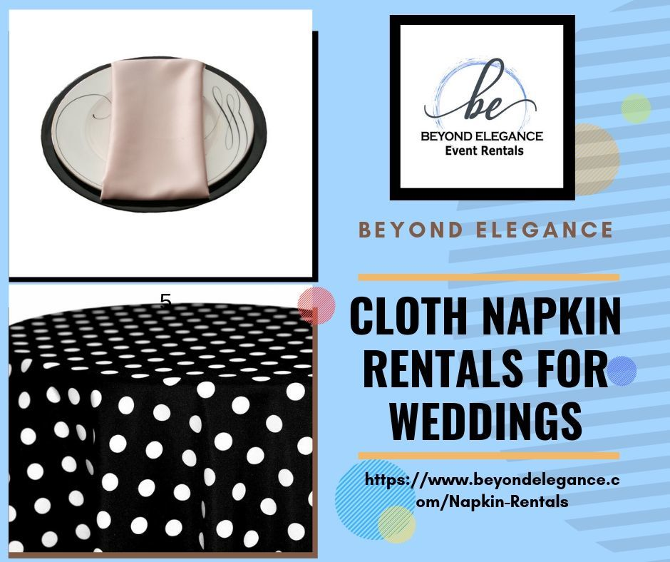 Cloth Napkin Rentals for Weddings — imgbb.com