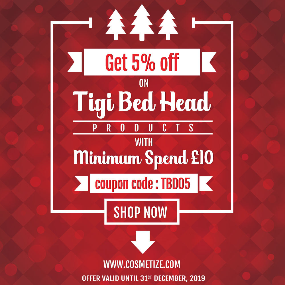 Tigi Bed Head Coupon Code