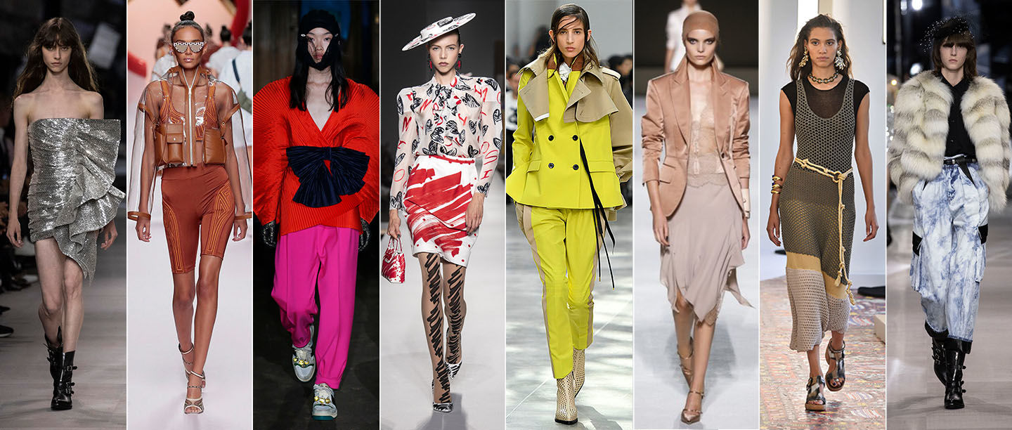SS '19 Trend Report: Dramatic Silhouettes, Animal Print, And Everything Hot This Spring!