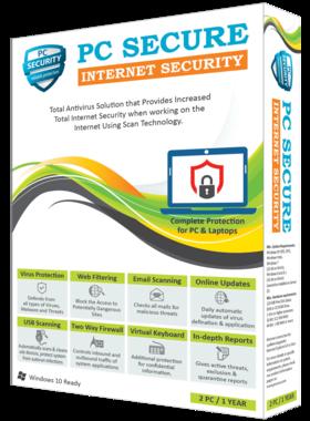 PC SECURE INTERNET SECURITY 2019