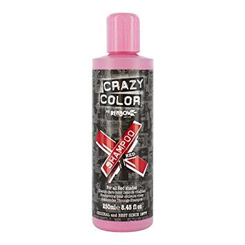 Buy The Best Color Care Shampoo For Red Hair by Crazy Color Online